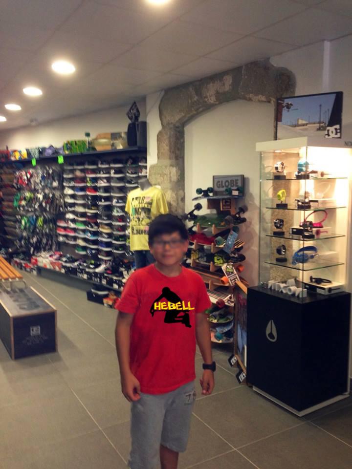 Expositor de nuestra tienda