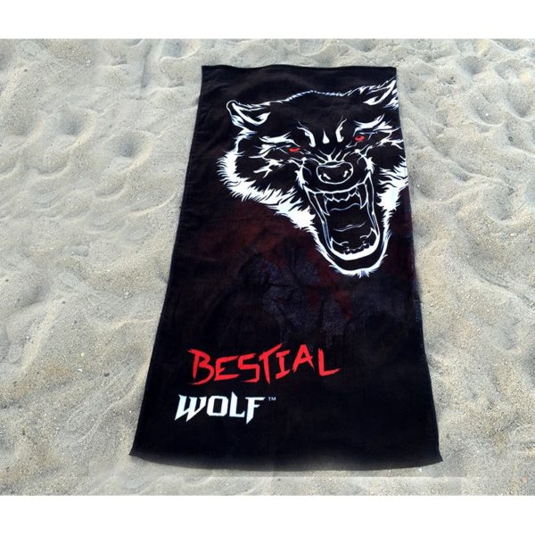 TOALLA DE PLAYA BESTIAL WOLF 75x150 cm