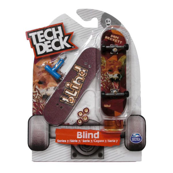 Tech Deck Series 7 Blind Sam Beckett Finger Skate