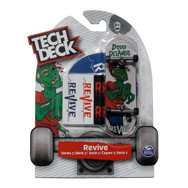 Tech Deck Series 7 Revive Doug Des Autels Finger Skate
