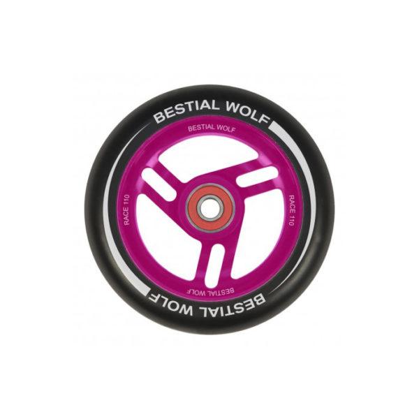 rueda-bestial-wolf-race-negra-nucleo-rosa